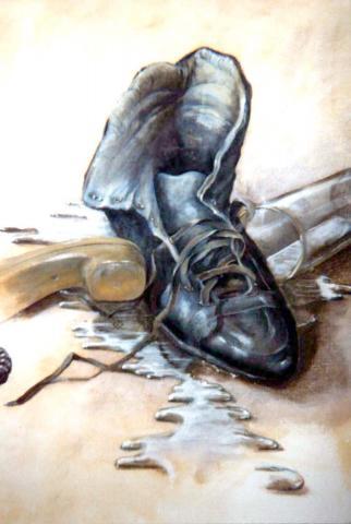 Schuh für Jochen
