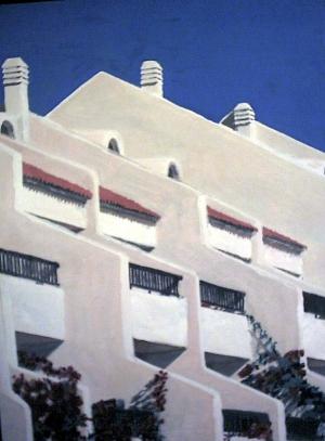 Wohnblock in Spanien