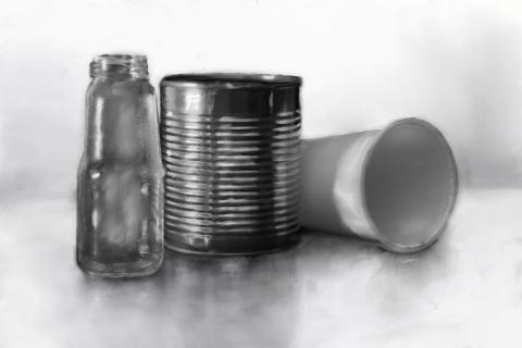 Bottle Can Cup