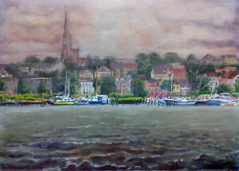 Flensburg From Water I