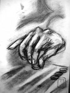 Backgammon Skizze