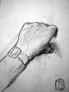 Hand Skizze 8