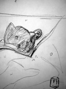Kitty Skizze 2