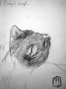 Kitty Skizze 3