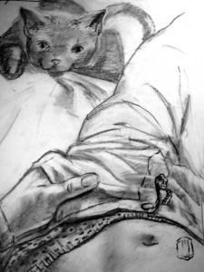Kitty Skizze 6