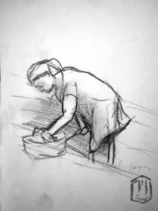 Morgenstich Skizze 2 (Mutti)