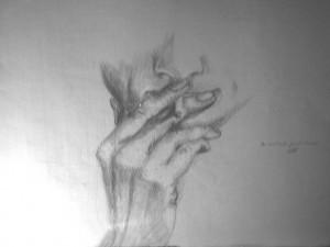Rauchen  Skizze