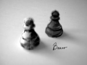Schach 3 Bauer 1