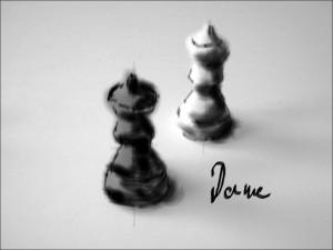 Schach 3 Dame 1