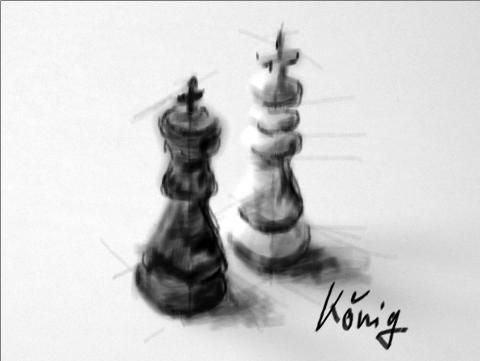 Schach 3 König 1