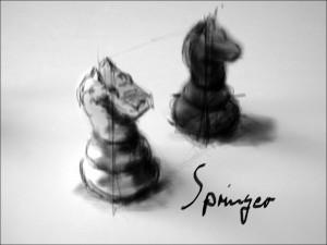 Schach 3 Springer 1