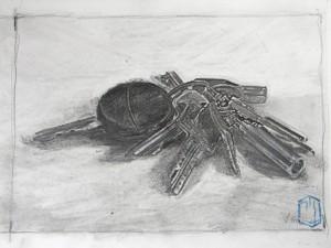Schlüsselbund 2 Skize