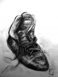 Schuh Skizze 4