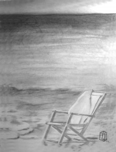 Strand Skizze 1