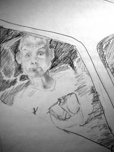 Taeglicher Horror Skizze 1