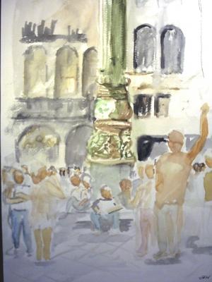 Venedig St Marco Säule