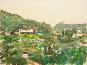 Florenz Landschaft 1