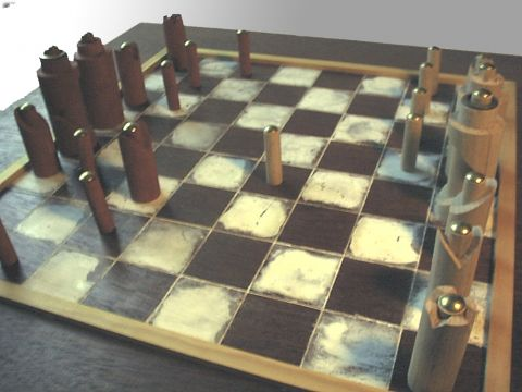 Chess Sculpture I