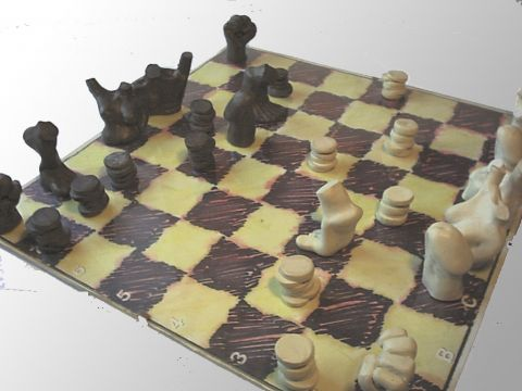 Chess Sculpture II