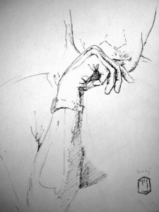 Hand Skizze 18