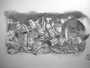 Müll Skizze 1