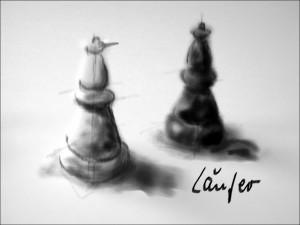 Schach 3 Läufer 1