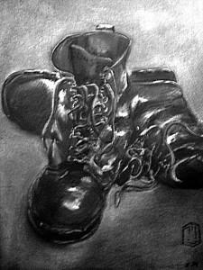 Stiefel Skizze 1