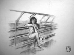 Strand Skizze 6