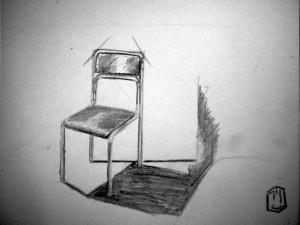 Stuhl Skizze 2